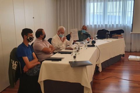 El presidente Castaño y Nogal dio cuenta en rueda de prensa de la falta de implicación de las instituciones para mantener la conservación y transitabilidad de la Ruta Quintá-Río Donsal en la presentación de las actividades del Work-Camp 2020