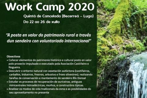 XI Edición del WORK CAMP MEDIOAMBIENTAL 2020