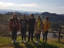 Alumnos de un master de la USC vistan Cancelada y se reúnen con vecinos y dirigentes de CyN para un trabajo de post – grado