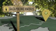 """""""GPS Galicia Percorre Sendeiros"""": Nuevo programa de senderismo de la Televisión de Galicia"""